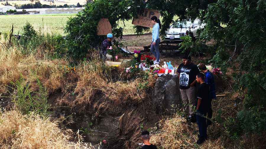 Gilroy crash site (May 14, 2015)