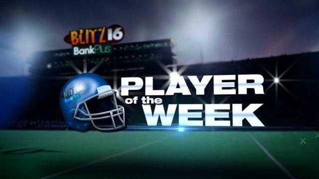 Cale Luke wins the Blitz 16, BankPlus Metro Player of the Week with 53% of the vote, beating out Hamel McGraw and Will Trammell