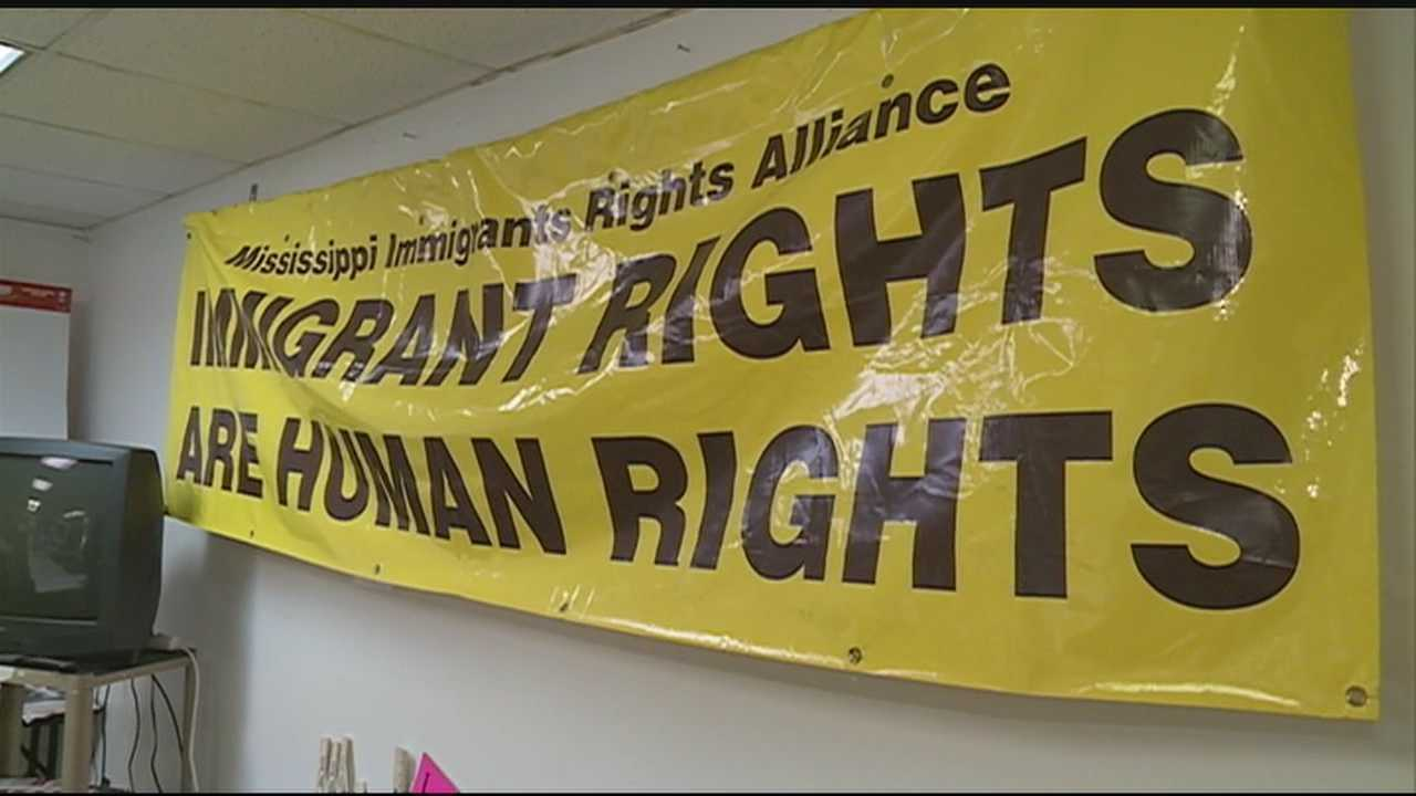 One immigrant rights group says they don't get enough warning in Spanish during weather emergencies.