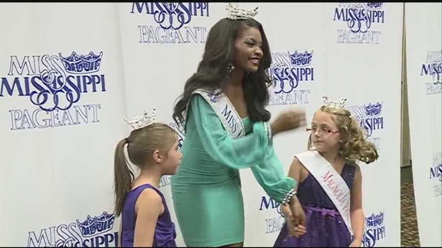 Miss Mississippi Jasmine Murray hopes to get a hold of the big crown -- at the 2014 Miss America Pageant.