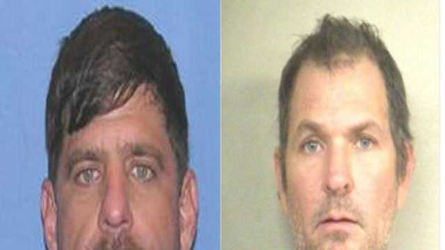 Police are searching for Joseph Franklin (pictured left), Raymond Trainor was arrested