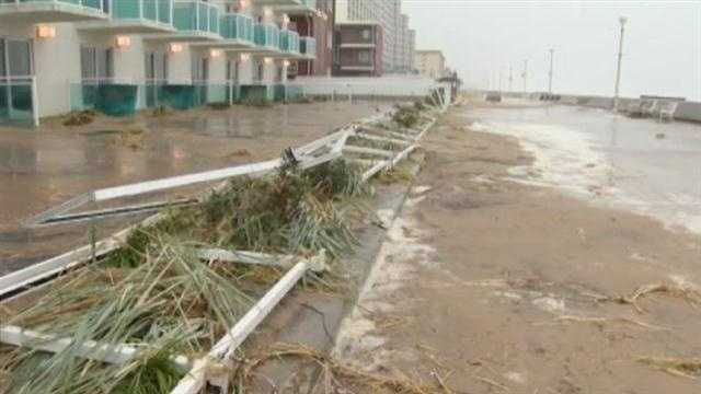 While FEMA approved money for public structures, the agency denied individual assistance for Maryland victims of Superstorm Sandy.