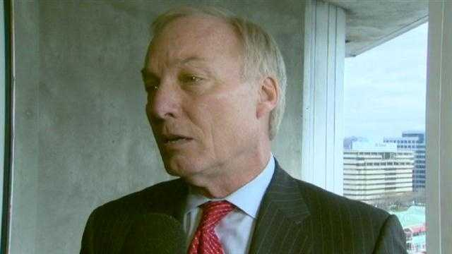 Maryland Comptroller Peter Franchot says he won't run for governor in 2014, and he plans to seek re-election as comptroller.