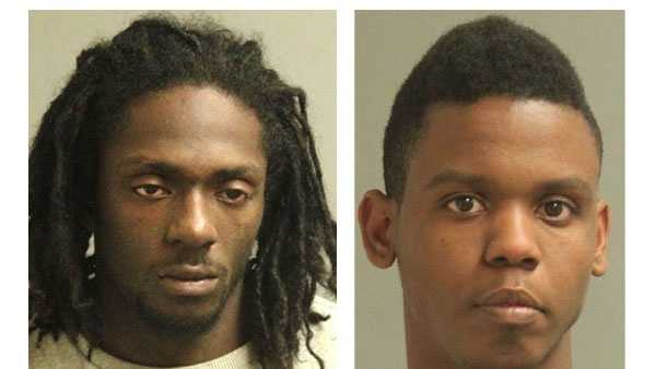 Police say Christopher A. Green (left) and 22-year-old Ezekiell Quinmell Bellamy (right) were arrested and face drug-related charges.
