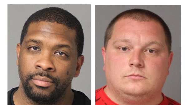 Police say Steven Brian Byrd, Jr., 34, of North Beach, and Richard Wayne Horn, 29, of Shady Side, were arrested and face charges.