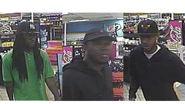 The FBI is asking for the public's help to find three people wanted in a series of commercial armed robberies.