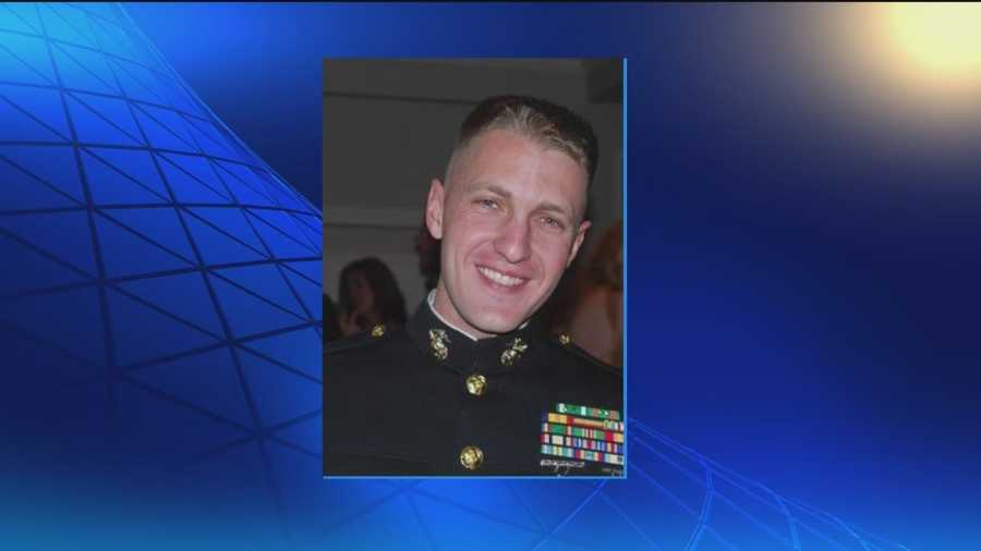 The military says a Marine that's a Carroll County native may have to be dishonorably discharged because he sent an email to other Marines from his unsecured Yahoo account, even though his lawyers say that email could have saved lives.  George Lettis reports.