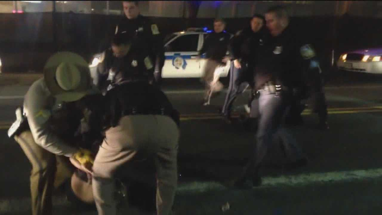 Baltimore County police are investigating an altercation between a man and an officer after video of the incident surfaced.