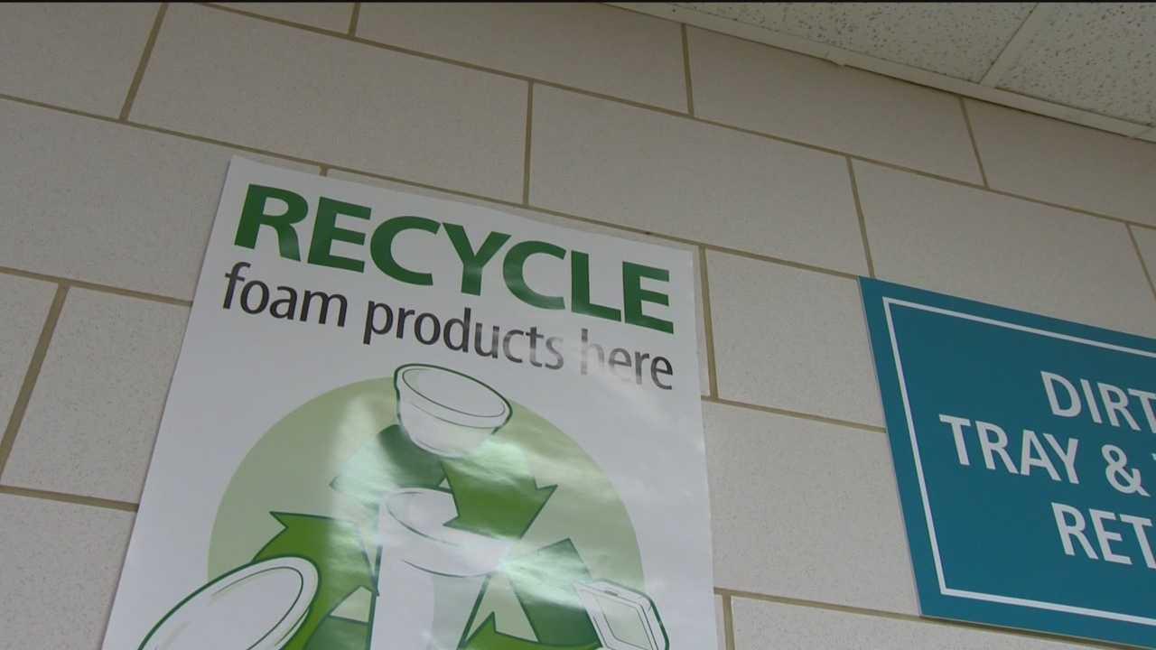 The cafeteria and food services department at the University of Maryland Baltimore Washington Medical Center uses a lot of Styrofoam and to preserve the environment, implemented a Styrofoam recycling program.