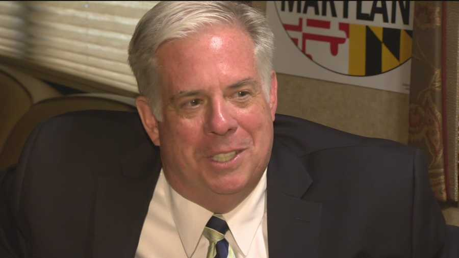 Republican gubernatorial candidate Larry Hogan