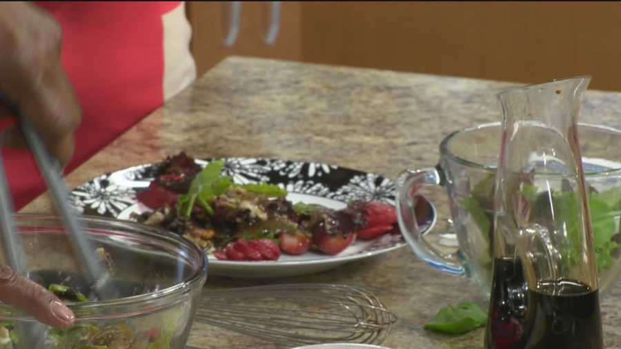 Chef Frank Leake of FutureCare Cherrywood shares his recipe for Crab and Strawberry Salad.