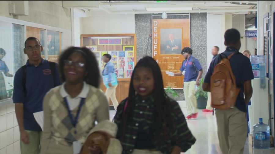 A good number of the seniors at Baltimore's Polytechnic High School have already made plans for college and some say they are ahead of the game because of the help he's gotten from the CollegeBound Foundation and school counselors.
