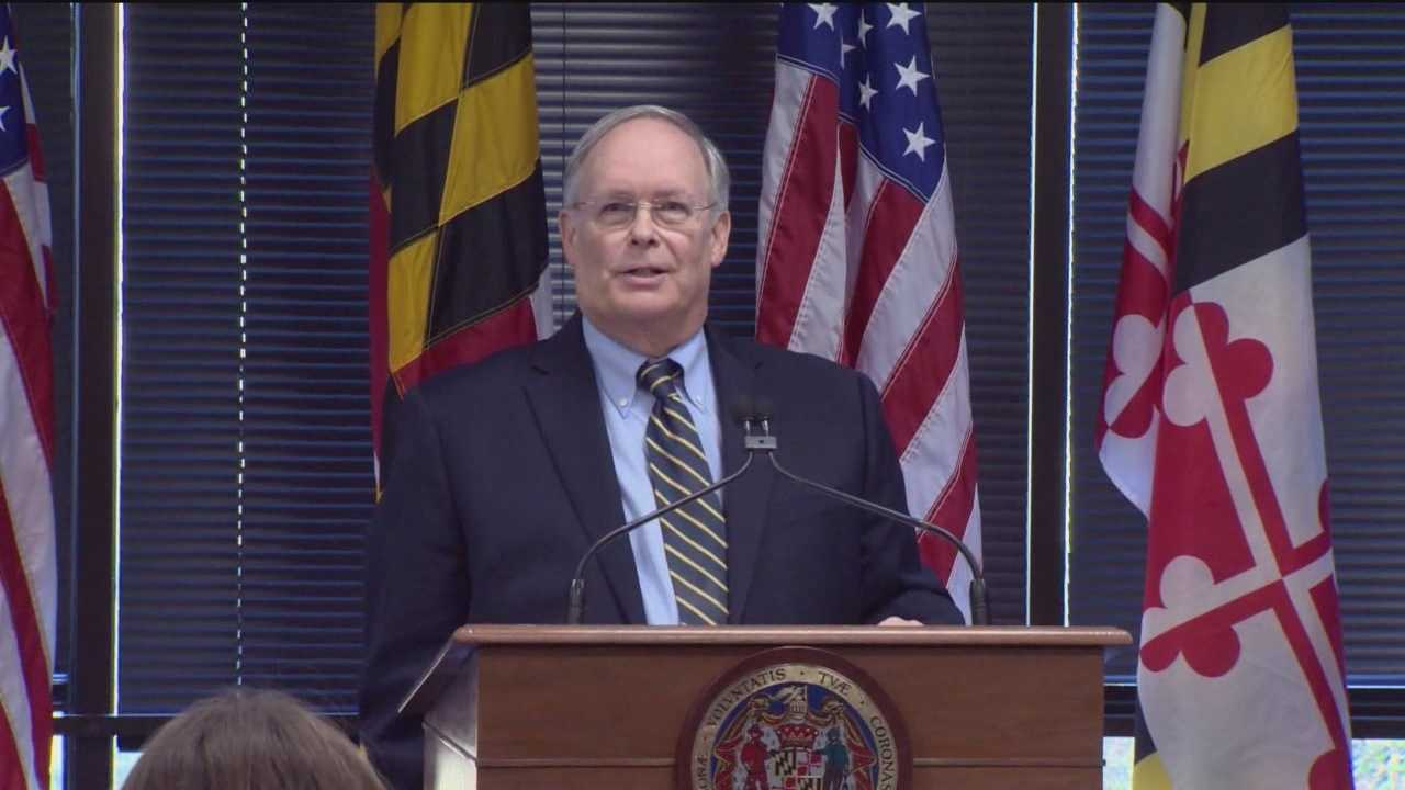 Governor-elect Larry Hogan introduces the man who will shepherd the administration's budget and tax policy.