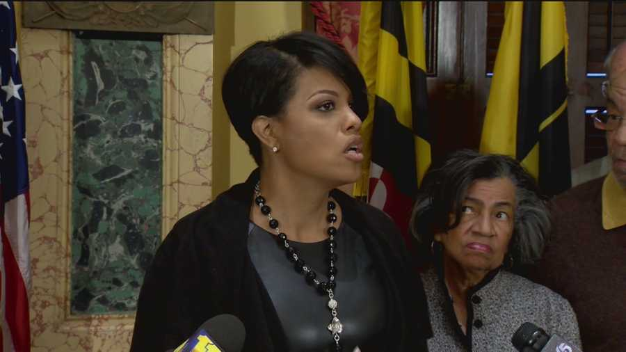 Baltimore Mayor Stephanie Rawlings-Blake will be at Capitol Hill Tuesday to talk about community policing experiences in Charm City.