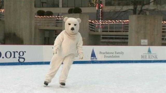 Donors can help raise money for Special Olympics of Maryland during a skating event at Baltimore's Inner Harbor.