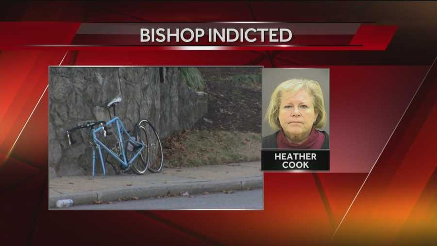 Bishop Heather Cook has been indicted on several charges for her alleged role in the death of Baltimore cyclist Thomas Palermo.