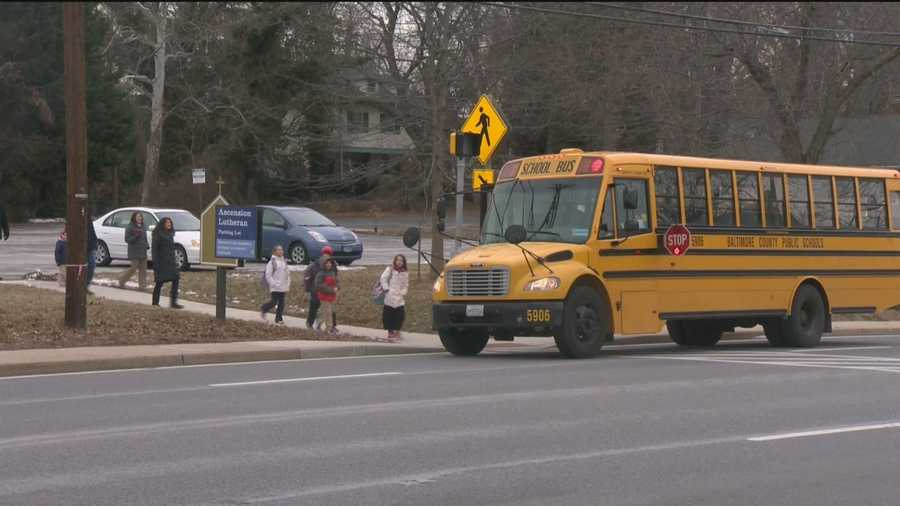 Parents in Baltimore County are fed up with drivers who don't stop for school buses picking up and dropping off children.