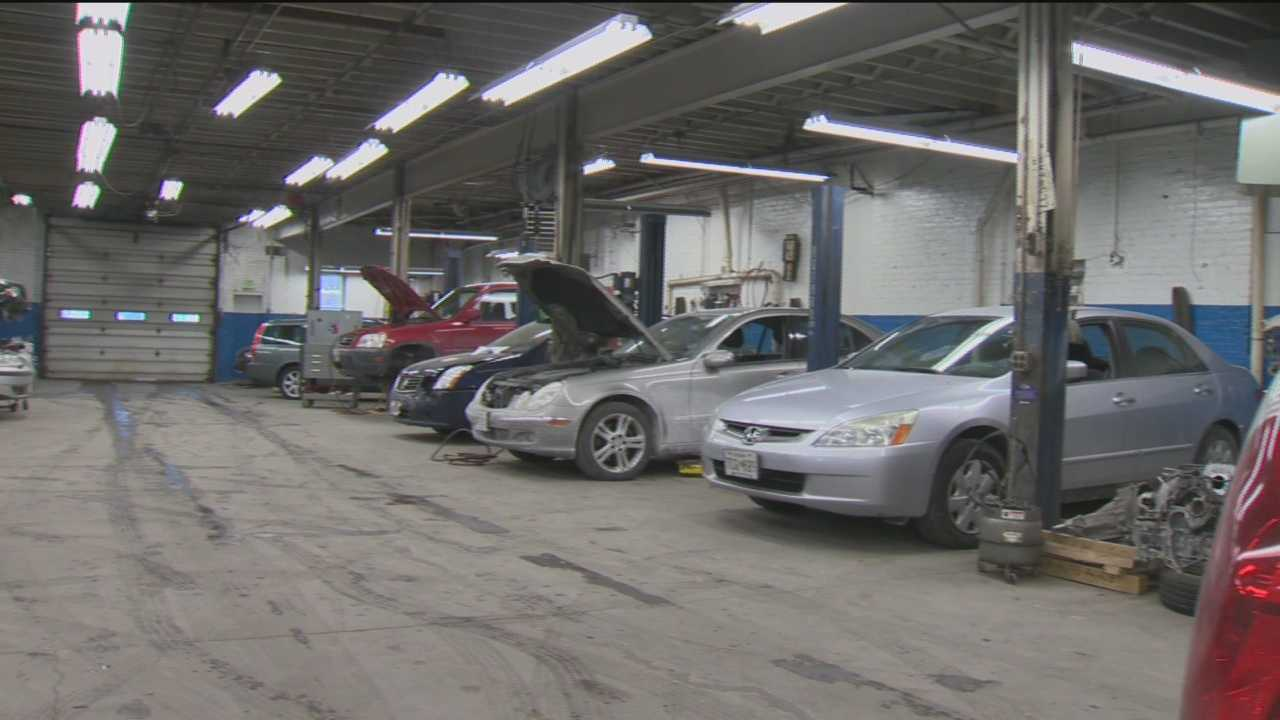 While road salt has coated cars, local auto shops say other issues are causing big problems for cars.