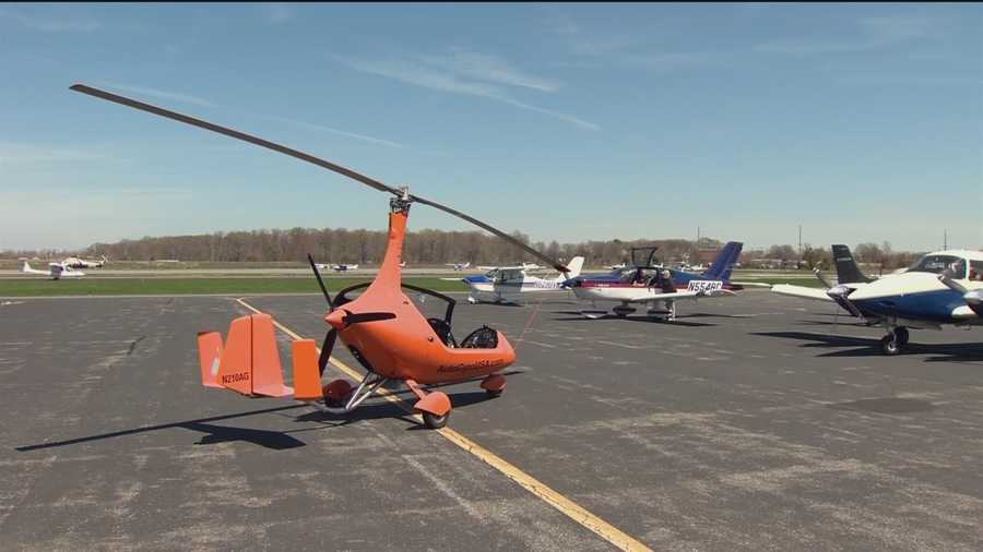 The people at Auto-Gyro USA in Stevensville say gyroplanes represent the fastest-growing aviation category in Europe and is getting more popular in the U.S.