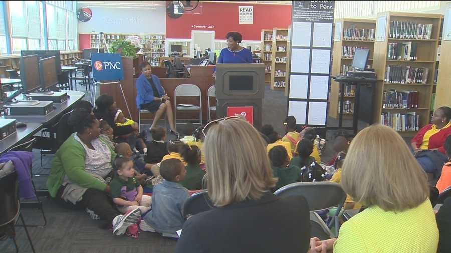 A $25,000 donation from PNC will help the Enoch Pratt Free Library in west Baltimore to touch more lives.