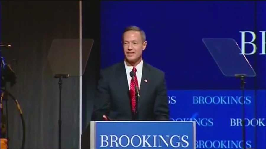 Martin O'Malley is expected to announce on Saturday that he's running for president.