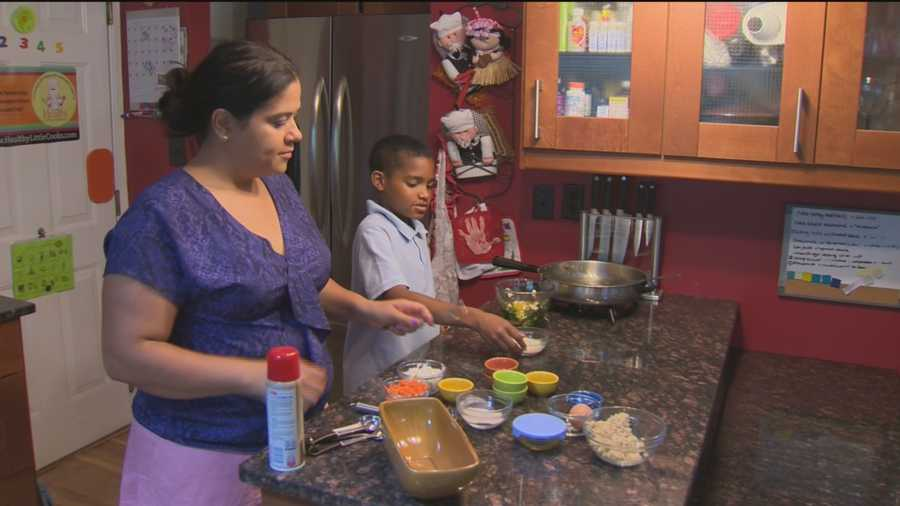 An Ellicott City second grader is headed to the White House, thanks to his skills in the kitchen.