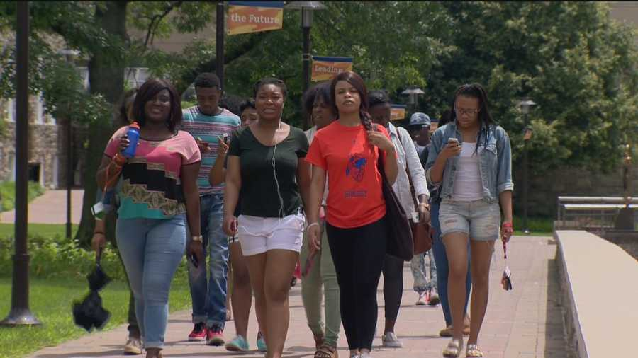 First-year college students throughout Maryland are getting a head start by brushing up on the basics.