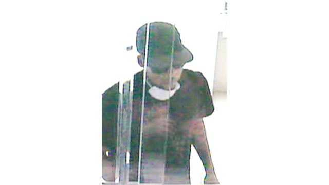 Anne Arundel County police said this man robbed an M&T Bank branch Monday afternoon in Glen Burnie.