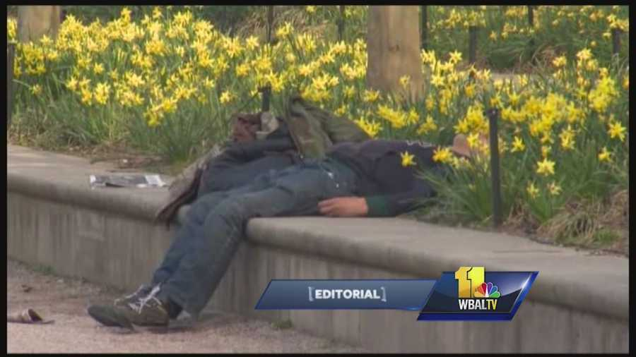 In Baltimore alone, there are hundreds of homeless veterans on city streets on any given night.