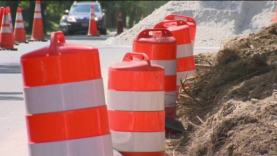 Construction crews are back on Roland Avenue trying to fix previous issues with a project that began in mid-June 2014. After an assessment, the city realized the southern portion of their job along Roland Avenue was having drainage issues.