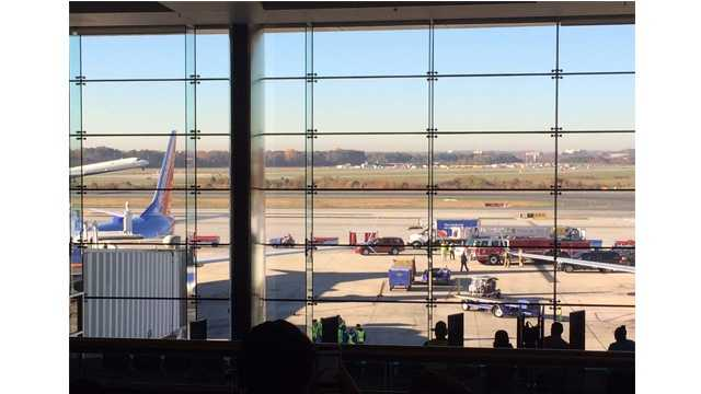 A 'possible suspicious item' has been found at BWI Thurgood Marshall Airport, airport officials confirm.