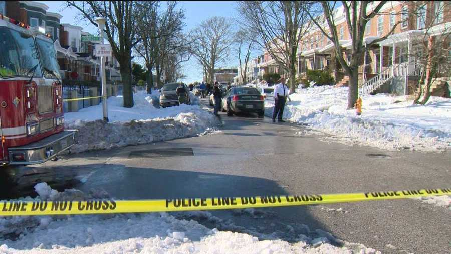 City police say they were involved in a shooting Wednesday in northwest Baltimore, police said.