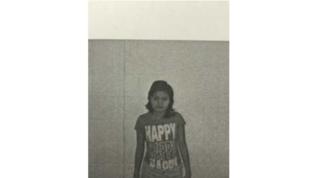 Tatiana Campos, 12, of Parkville was reported missing Monday night.