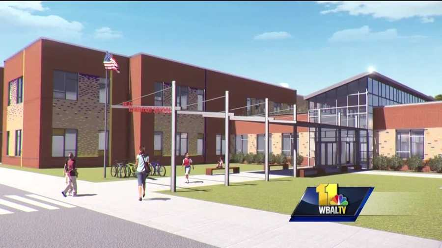 Baltimore County believes it's found an answer to years of school overcrowding, especially in the southwest. The Baltimore County School District officially broke ground for a new $31 million elementary school. It'll replace the old Relay Elementary building. It's part of a much larger plan to deal with growth.