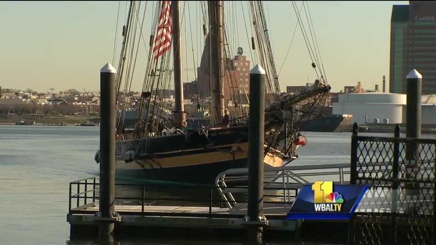 Sailing into Fort McHenry, the Pride of Baltimore II -- a floating ambassador of Maryland history -- is getting ready for its maiden voyage of the season.