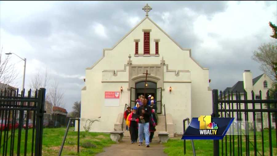 On Good Friday, Christians are remembering the death of Jesus. As part of their reflection, members of the Episcopal Church in Maryland also offered prayers for peace. A dedicated group of about 40 people made the trek from east to west Baltimore all the time remembering victims of violence.