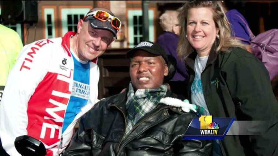 There hasn't been much progress for patients diagnosed with Lou Gehrig's disease, also called amyotrophic lateral sclerosis, or ALS, but one man hopes to change that. For years, Todd Jennings has been raising money to find a cure, and he hopes others will, too. He spends roughly 25 hours a week in a gym training for Ironman Triathlon events.