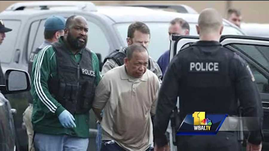 Police believe they have a suspect in custody in connection with two Montgomery County shootings in which two people were killed and two others were injured Friday morning. Police believe the suspect is the same man wanted in the fatal shooting of his ex-wife the day before. Montgomery County police identified the suspect as 62-year-old Eulalio Tordil, an employee of the Federal Protective Service. He was taken into custody without incident shortly before 3 p.m. in the Aspen Hill area, authorities said.