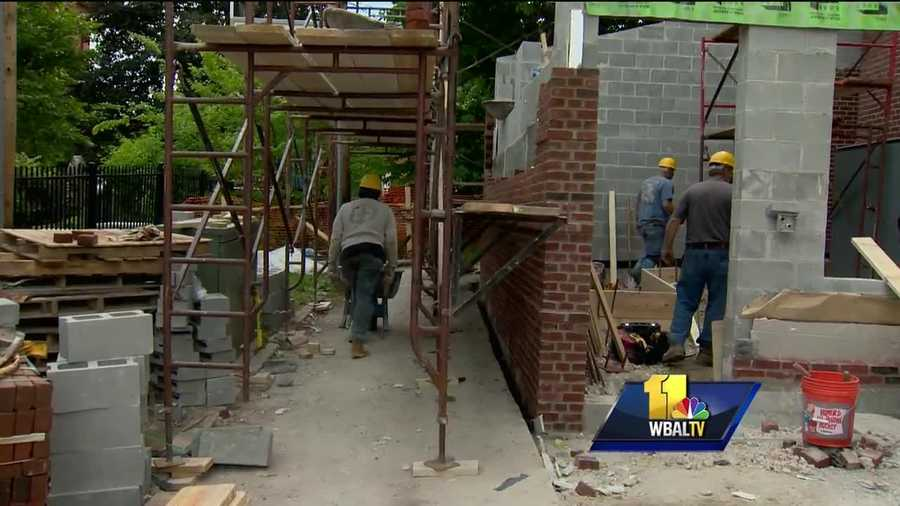Children in one west Baltimore community will still be busy learning once school lets out for the summer, thanks to the reopening of the Gilmor Homes Community Center next month. After eight years, construction continues at the facility, but the time is ticking. Come June, dozens of kids will converge on the center to participate in the programs.
