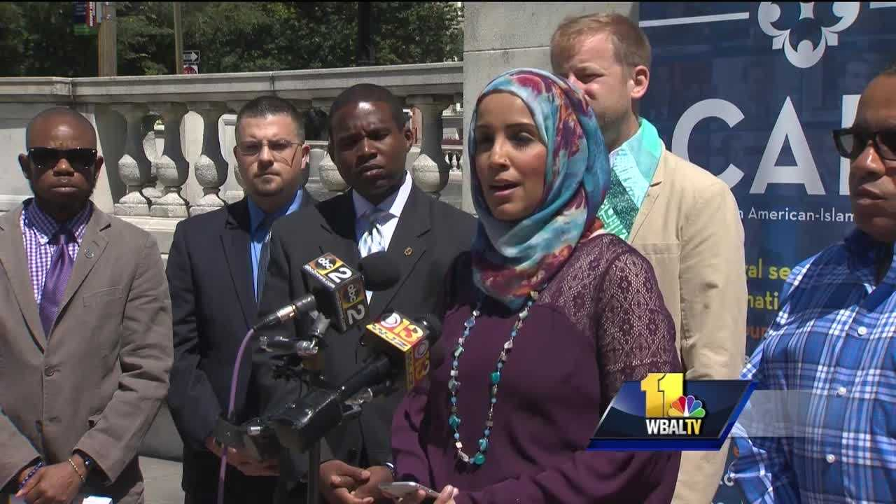 Members of the Baltimore Muslim community converged Monday with the LGBT community in a show of support and strength. Members of Baltimore's LGBT community and the Council on American Islamic Relations stood together less than 48 hours after the deadly mass shooting in Orlando, calling it an act of hatred. CAIR leaders said Muslims have been donating blood and money to victims' families.
