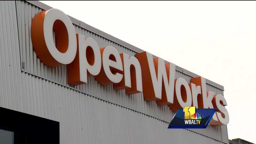A new space opened in Baltimore's Station North arts district. The ribbon-cutting ceremony was held Tuesday for Open Works.