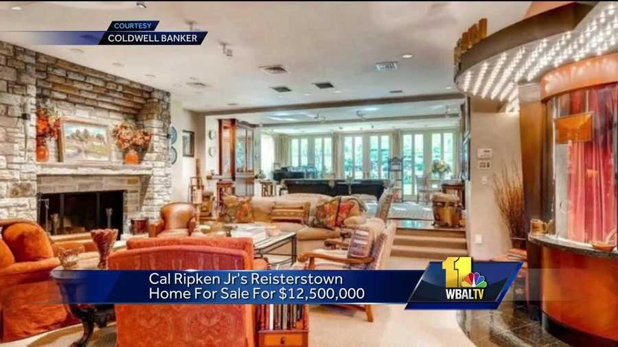 Baltimore Orioles Hall of Fame shortstop Cal Ripken Jr. has put his Baltimore County home on the market. The 25-acre property in Reisterstown is listed for $12.5 million.
