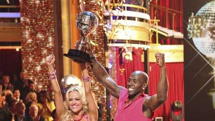 "After 10 weeks of highly entertaining performances and phenomenal dancing, Donald Driver and Peta Murgatroyd were crowned ""Dancing with the Stars"" champions, on the two-hour Season Finale of ""Dancing with the Stars the Results Show"" on Tuesday May 22, 2012 on ABC."