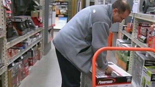 "Homeowners shop for generators, pumps ahead of ""Sandy."""