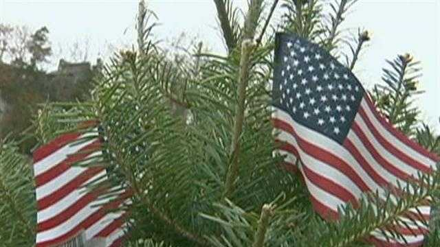 Mahoney's is helping provide Trees for the Troops!
