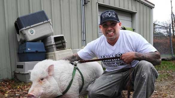 Porkchop with owner Anthony Ruiz.
