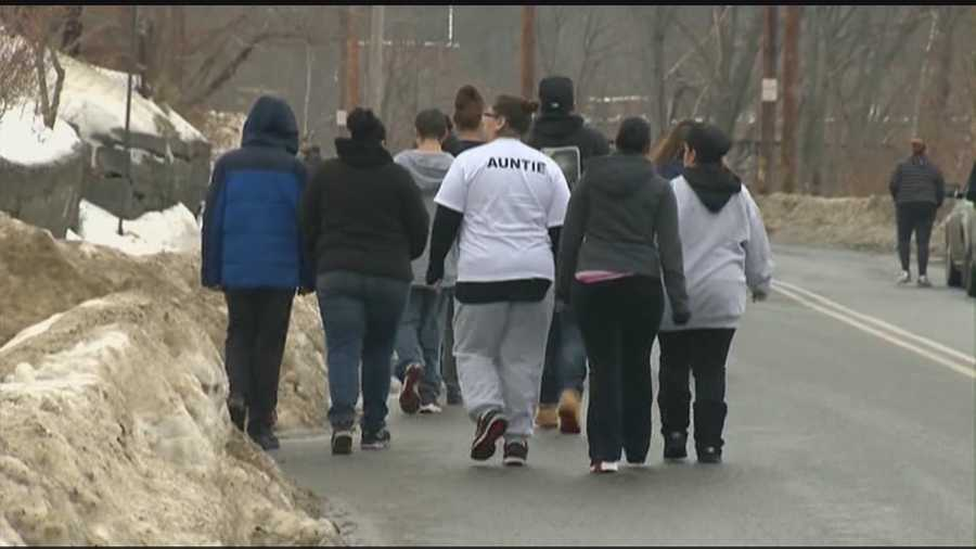 More than a hundred people took to the woods and train tracks Saturday near Jeremiah Oliver's home, hoping to find some sign of the missing 5-year-old.