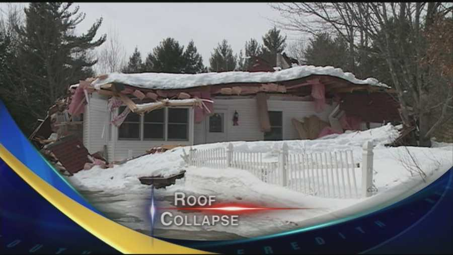 A family is homeless after their roof collapses