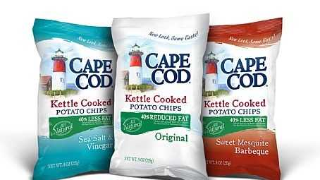 Cape Cod Potato Chips was founded in 1980 in Hyannis. More than 250,000 people visit the Cape Cod Potato Chip factory every year to see how the notoriously crunchy chips are made.