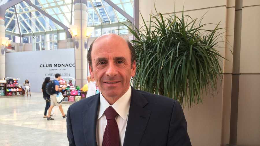 Arthur T. Demoulas on August 3, 2014 before meeting with his attorneys in Boston.